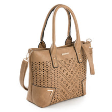Perforated Tote Handbag Izzi 3 colors