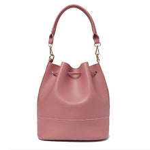 Perforated Bucket Shoulder Bag Lida + purse 5 colors