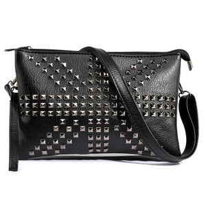 Messenger Bags with studs Night
