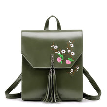 Embroidery Backpack With Tassel Stef 4 colors