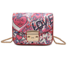 Printed mini crossbody bag Fea 3 Prints