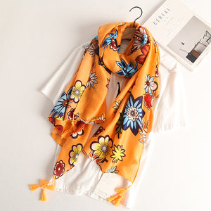 Cotton Scarf July