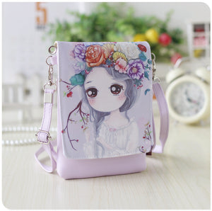 Printed Small Shoulder Bag Katune