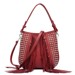 Shoulder bag Tassel Hloya 4 colors