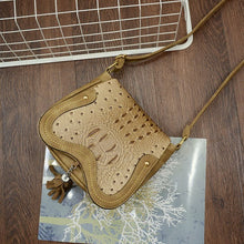 Crossbody Bag Crocodile Pattern Honolulu 4 colors!