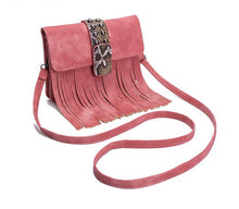 Mini Messenger Bag With Tassel Osa 4 colors