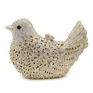 Evening Crystal Bag Bird