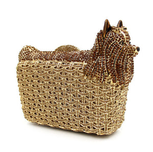 Evening Crystal Bag Puppy