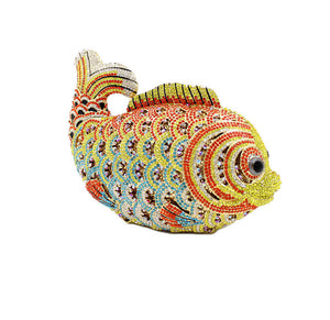 Crystal Evening Clutch Bag Goldfish