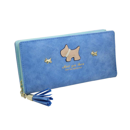 Cartoon Wallet Graffiti Dog Purse 8 colors