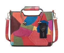 Patchwork Shoulder Bag Veiss