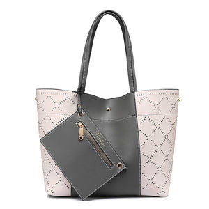 Perforated bag tote Emma 3 colors