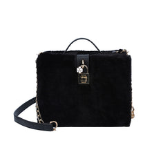 Faux Fur Crossbody Bag Elva 4 colors