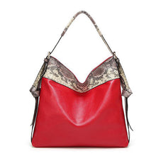 Tote Serpentine Shoulder Bag Igra 4 colors
