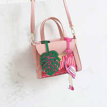 Handbag Flamingo 2 colors (black and pink)