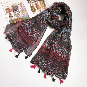 Cotton Scarf Floriana