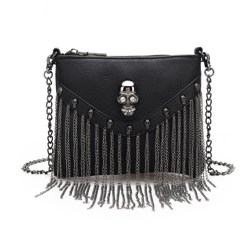 Crossbody bag with skull Heda