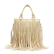 Handbag Tote with fringe Remy 4 colors