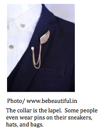 Nice There Is A Long History On Cultural Reasons As To Why People Wear Lapel Pins  But We Arenu0027t Going Into That Today.