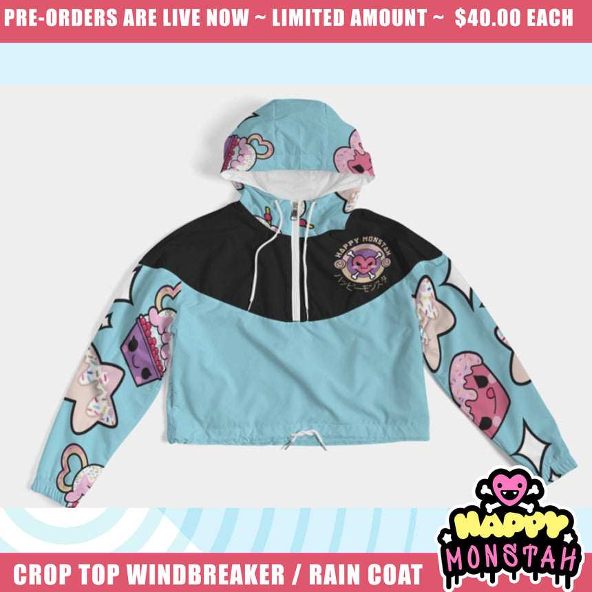 A Lil Dark Candy Wind Breaker / Rain Coat (Pre- Order Closes April 15th)