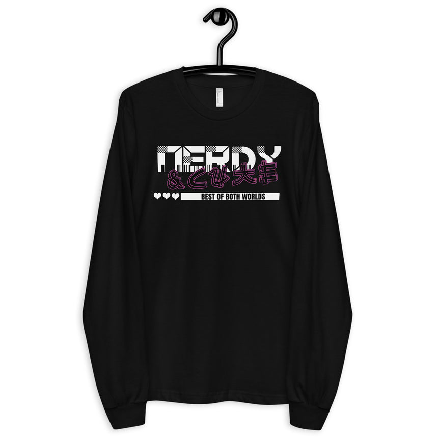 Nerdy & Cute Long sleeve t-shirt