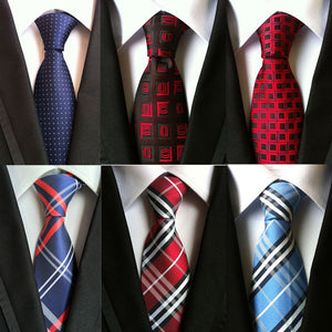 Neckties for smart casual dressing