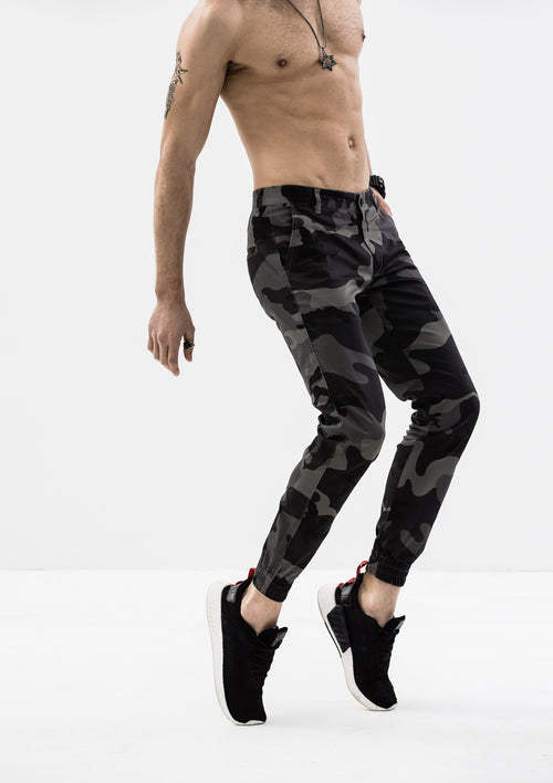 Artemis Jogger Pants - Gray