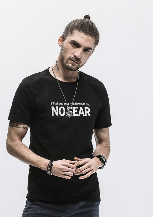 No Fear T-Shirt - Black