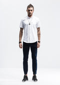 Pocket Short Sleeve Shirt - White