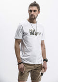 Push Yourself T-Shirt - White