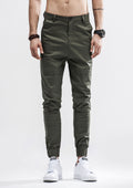 Banded Jogger Pants - Green