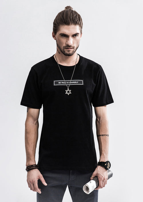 Be True To Yourself T-Shirt - Black