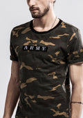Curved T-Shirt - Army