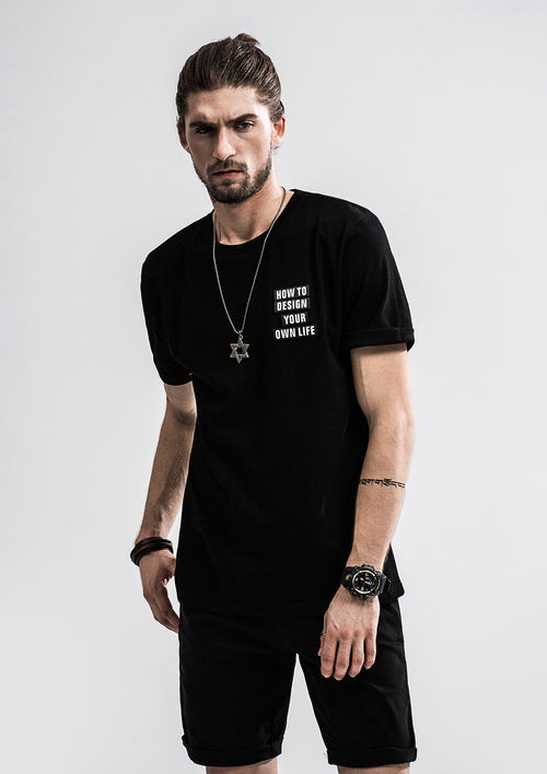 Design Your Own Life T-Shirt - Black