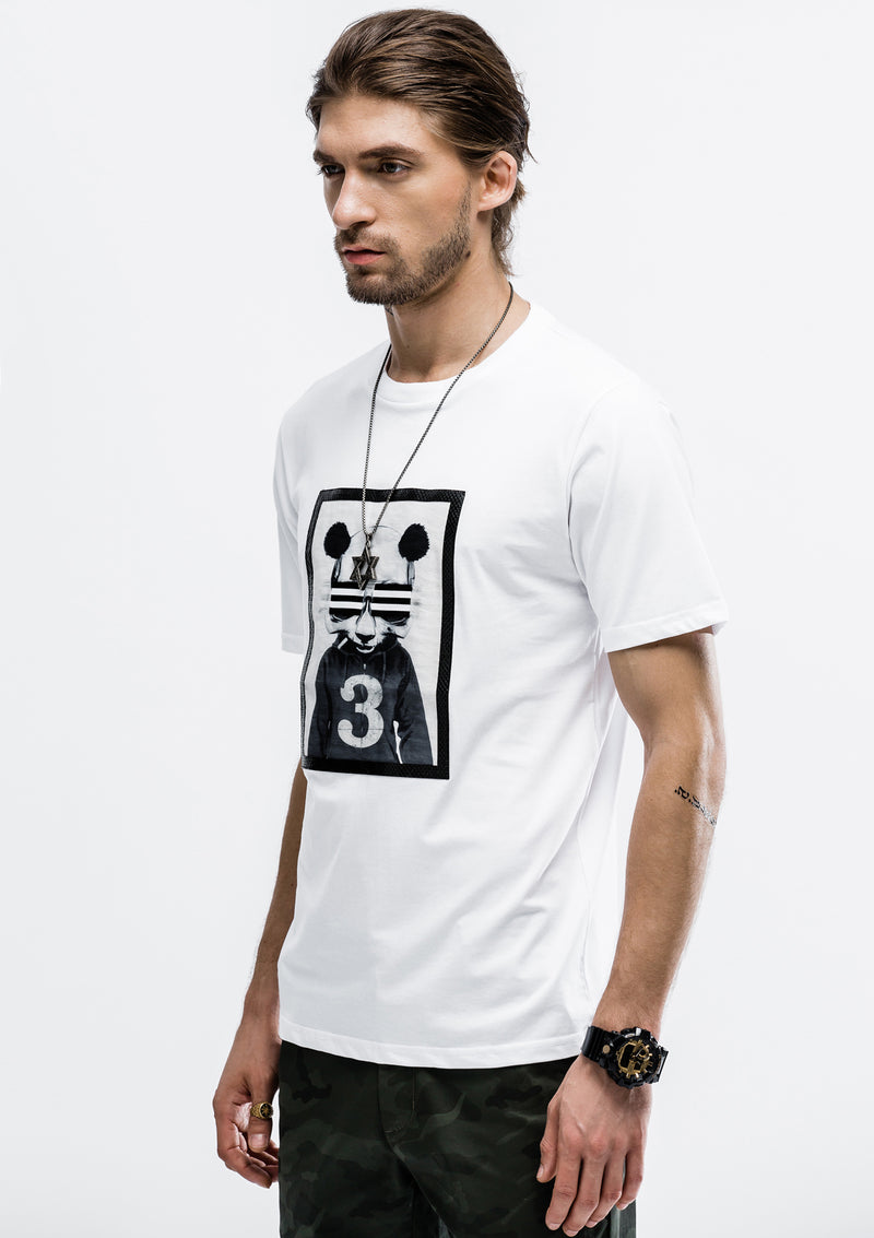 Graphic Patch T-Shirt - White