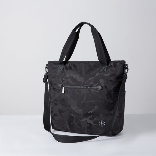 Sawyer Camo Tote - Black