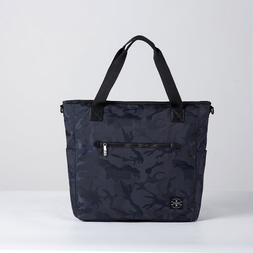 Sawyer Camo Tote - Blue Camo