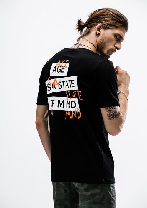 State of Mind T-Shirt - Black