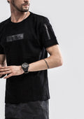 ORIGINAL Zipband T-Shirt - Black