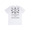 Be Different, Not Replaceable T-Shirt - White