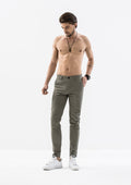 Skinny Chino Pants - Gray