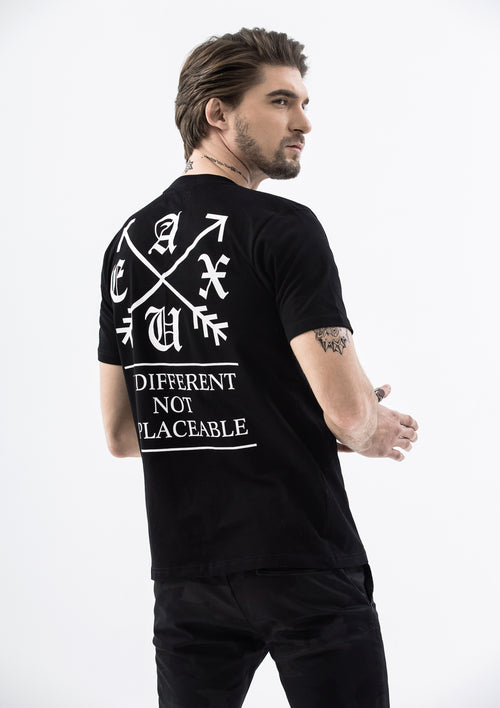 Be Different, Not Replaceable T-Shirt - Black