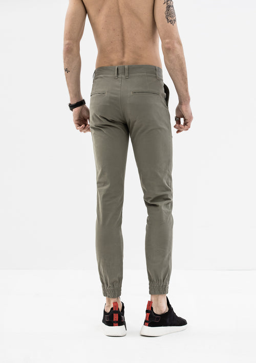 Zeus Stretched Jogger Pants - Gray