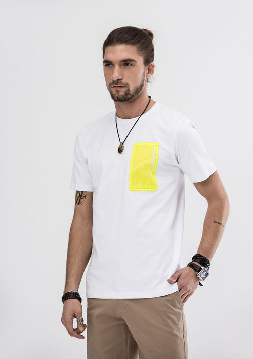 Explorer Pocket T-Shirt - White