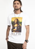 Selfie-Lisa-T-Shirt-White