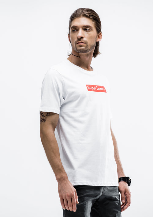 Superbroke T-Shirt - White