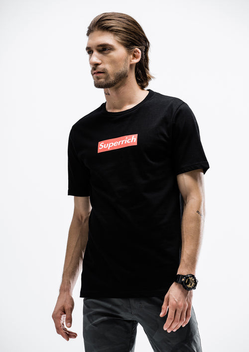 Superrich T-Shirt - Black