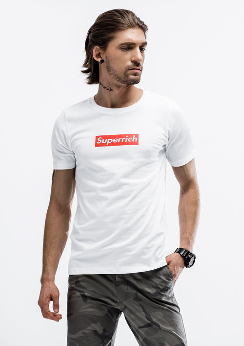 Superrich T-Shirt - White