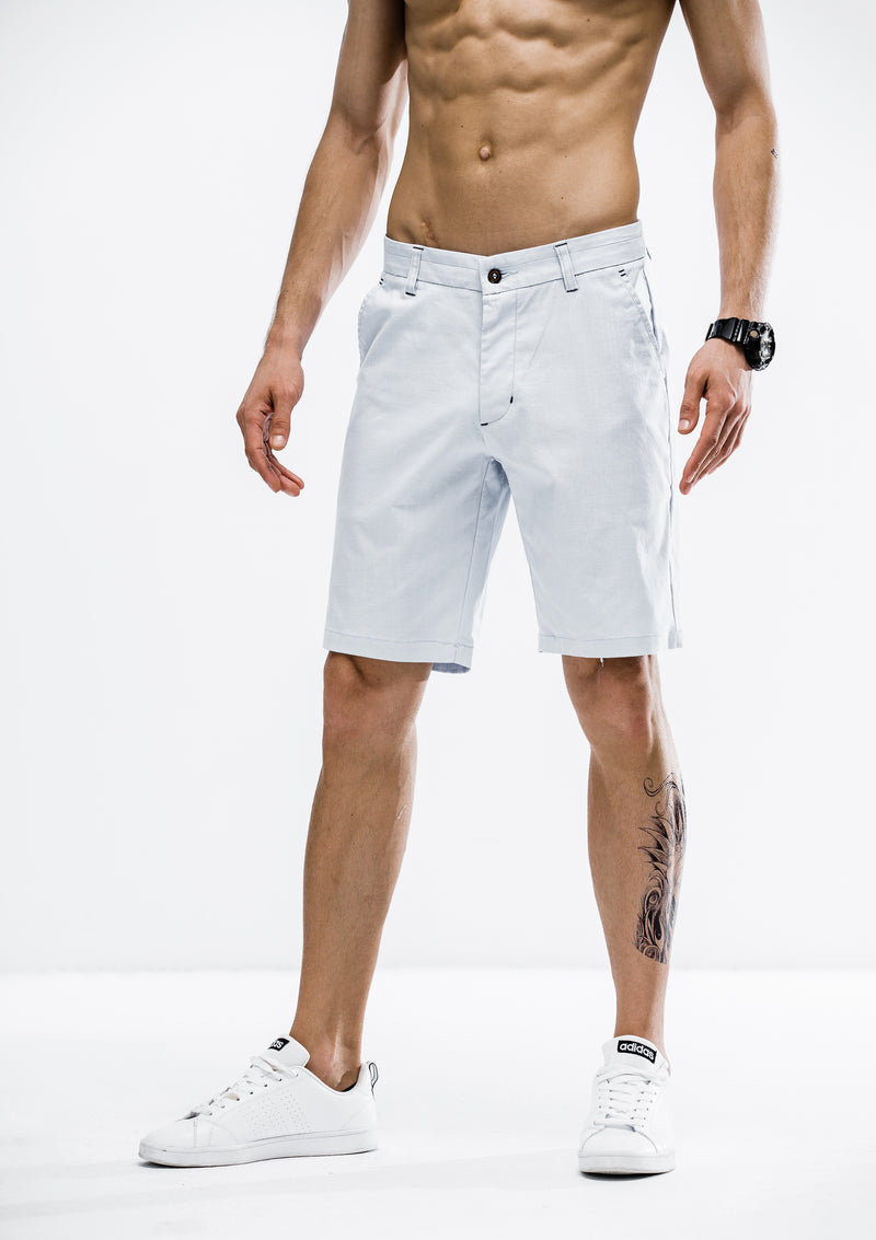 Tapered Fit Shorts - Blue