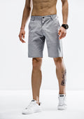 Tapered Fit Shorts - Gray